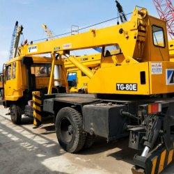 Usa Tadano Tg-80e 8ton camión grúa en buenas condiciones de trabajo
