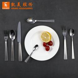 4피스 거울 연마 스테인리스 스틸 칼붙이 서양식 패밀리 과일 포크 식기류