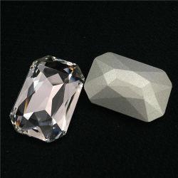 3008 Buitensporige Stenen van het Kristal van de hoogste Kwaliteit de Milieuvriendelijke Rechthoek besnoeiing-Gefacetteerde voor Juwelen