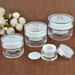 Tarro de crema de lujo / PMMA Jar / Acrílico tarros de cosméticos para 5g 10g 15g 30g 50g