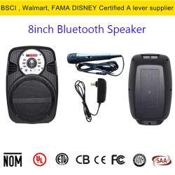 Só 8 polegada Bass Alto-falante de áudio de 30 W de Potência de Pico Alto-falante Bluetooth