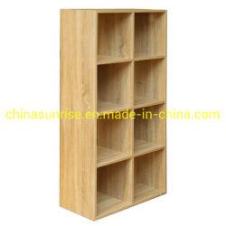 De Plank van de kubus als Aangepaste Grootte en Kleur kan Gebruikt als Boekenkast of voor Vertoning