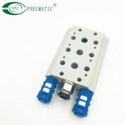 Airtac 3V210 4V210 base de bloco do coletor da válvula