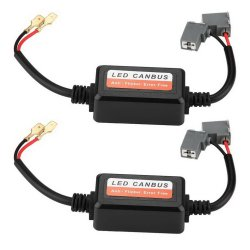 Декодер Canbus индикатор H7 9005 Hb3 9006 Hb4 H8, H11 Car LED фары свободным от ошибок предупреждение Echo Canceller конденсатор Canbus декодеры