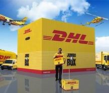 DHL Express Courier Service logistique de fret aérien en provenance de Chine à la USA/UK/Allemagne/Europe/Canada/Australie/Dubai/Amazon entrepôt/adresse de la société