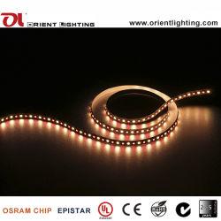 UL 5060+5050 Ce Epistar LED RGB+W Tiras Flexibles LED de luz