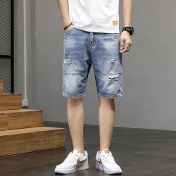 Shorts casuali del denim di modo degli uomini all'ingrosso di estate
