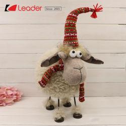 Tissu brun Noël élégant et attrayant Deer suédois pour la maison d'articles de décoration et de cadeaux des fêtes, de personnaliser vos propres poupées en peluche nordique