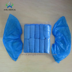 HDPE ディスポーザブルプラスチック製シューカバー(靴より)の販売価格