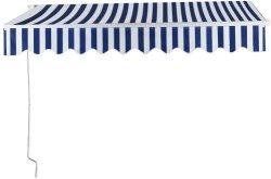 Tenda ritrattabile della piattaforma del baldacchino manuale del patio