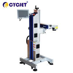 Cycjet Lf50f Onlinehochgeschwindigkeitsfaser-Laser-Markierungs-Maschine