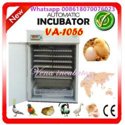 Kerstmis op Verkoop heet-Verkoopt de Model Digitale volledig Automatische Incubator van het Ei van de Kip voor 1000 Eieren