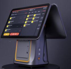 """La fábrica 12"""" 15.6""""todo en un sistema POS Caja Registradora de la pantalla táctil Terminal POS Restaurante Hotel POS Supermarke PC"""