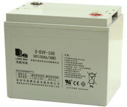 6V150EV глубокую цикла свинцово-кислотных аккумуляторов для электромобилей/поле для гольфа тележки