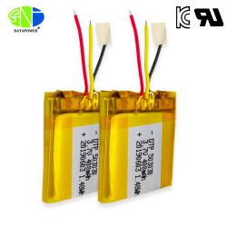 UL2054 Kcのセリウムの証明書が付いている再充電可能な430mAh 400mAh電池のLipo電池503030の3.7Vリチウムイオンポリマー電池