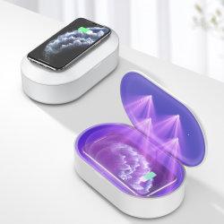 Nouveau portable cellulaire LED stérilisateur UVC Case petite lumière UV Disinfector Téléphone Mobile Boîte de stérilisation Stérilisation jouet avec fonction d'Aromathérapie