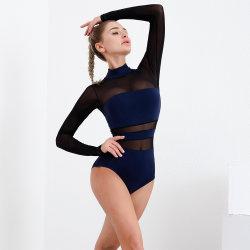 Long Sleeve Yoga Jumpsuit Indoor Fitness Wear Women′ S Sexy Workout Romper One Piece Activewear Jumpsuits Gym Bodysuit Dancing Exercise Slijtage