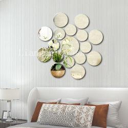 Espelho de prata arte criativa decoração moderna para uso doméstico