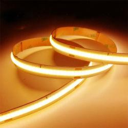 336LEDs/M DC24V COB luces de tira de color doble CCT 2700K-6500K flexible Luz de tira de LED COB