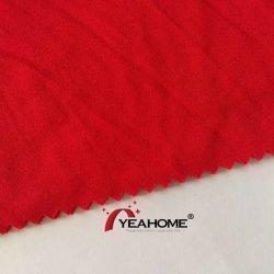 Ducati tecido stretch escovado Tecido de poliéster tricotadas