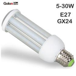 5W 9W 11W 15W 18W 24W 30W G24 E27 Ampoule de LED