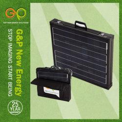 Gpm-2f-160W panel solar monocristalino plegable con bolsa de transporte