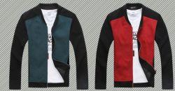 Windproof OEM 폴리에스테르 맨 Polar Fleece 레저 재킷