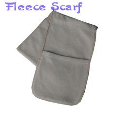 2015 новый дизайн флис Pocket шарфы зимние шарфы с Pocket