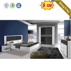 Großhandel Moderne Holz Haus Wohnzimmer Schlafzimmer Möbel Sofa Doppel Kingsize-Bett An Der Wand