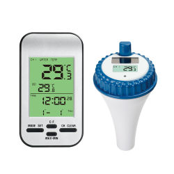 Gran precisión de -40C-60c Digital Termómetro Piscina Wireless Termómetro de agua