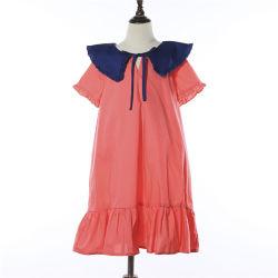 方法によってカスタマイズされる女の子の偶然の綿の服の袖なしの服