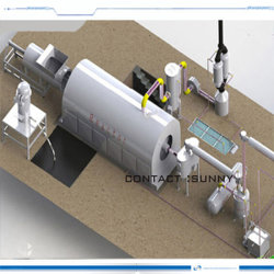 يكرّس يدور نوع إطار العجلة انحلال حراريّ معدّ آليّ يستعمل إطار أن يزيّت وكربون [10تون]