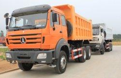 De Vrachtwagen van de Kipper van de Stortplaats van Benz 6X4 340HP van het noorden 25t voor Verkoop
