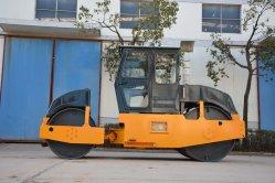 8-10 tonne double tambour compacteur statique pour la construction de routes