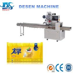 Quick-Frozen quenelles et machine de conditionnement de Pâtisserie pâtisserie oreiller Machine d'emballage alimentaire