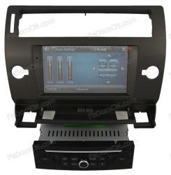 نظام تحديد المواقع العالمي (GPS) لأقراص DVD للسيارة نظام ملاحة تلقائي لصوت استريو راديو فيديو مع وظيفة iPod نظام الوسائط المتعددة USB SD بتقنية Bluetooth لـ Citroen C4