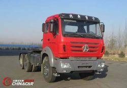 China chineses usado 6X4 Beiben caminhão trator com preço baixo
