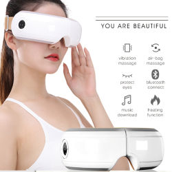 Hezheng 2020 Beauty Mini Heating Physical Therapy Massage Smart Eye Stimulator voor Dry Eye Dark Circles Vision Care-ogen