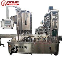 درجة عالية من ماكينة ملء الزجاجات الآلية مع شهادة CE