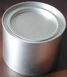 Pot de fer blanc, boîte en étain de fer, boîte en acier inoxydable, bidon de nourriture, étanche avec couvercle