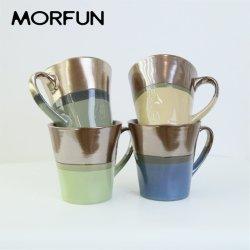 Großhandel 14oz zwei-Ton Gliter Farbe Glaze Becher Set