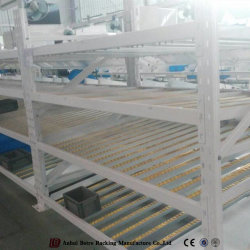 La vía de rodillos Carton Flow estante con soltura en Rack