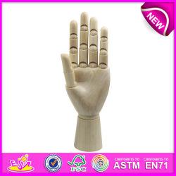 Producto Nuevo Modelo de la mano de madera de artista, Maniquí flexible modelo de la mano de madera, de alta calidad de mano de madera modelo W06D042-A