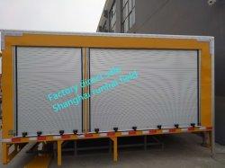화재 차량 알루미늄 회전 셔터 화물 트럭 장님 문 활주 유형