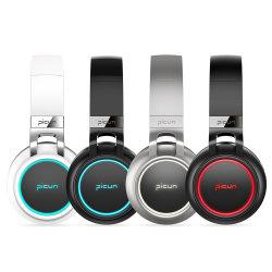 Top Vendendo Super Bass LED Fone de ouvido leve Mobile Wireless Bluetooth Headset P60