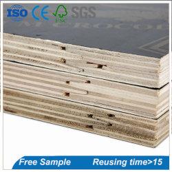 Il legno impermeabile di vendita calda riveste la scheda del compensato del comitato della costruzione del compensato