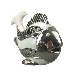 カスタマイズされたホーム装飾の蝋燭ホールダーの陶磁器の魚