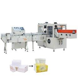 Tejido de Toalla de mano de decisiones de la máquina de embalaje de papel Servilleta Paquete