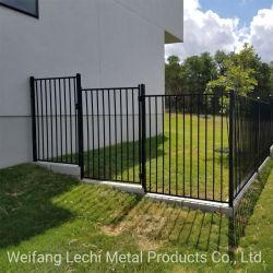 Запустите Orderaustralia через сварной гладкая поверхность стальных Ограждения панели/плоские ограждения в верхней части стопорное стены