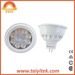 MR16 Gu5.3 SMD GU10 3/4/5W Lampe à LED avec des prix concurrentiels fabricant